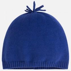 Бебешка памучна плетена шапка