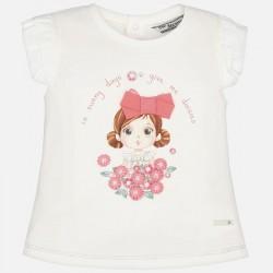 Тениска момиченце с маргаритки