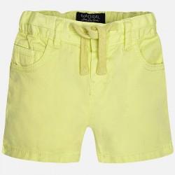 Къси панталонки с връзки и джобове