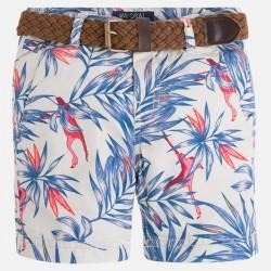 Къси панталони с тропически принт