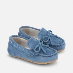 Мокасини в синьо
