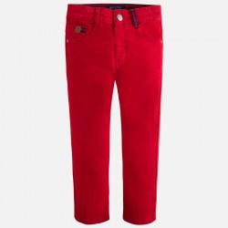 Цветен памучен панталон-тип дънки