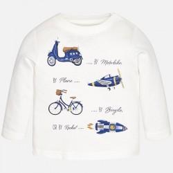 Блуза с превозни средства