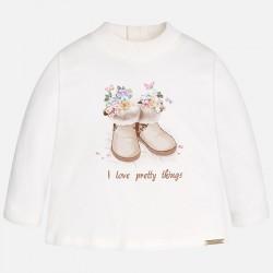 """Блуза с принт """"ботушки"""""""