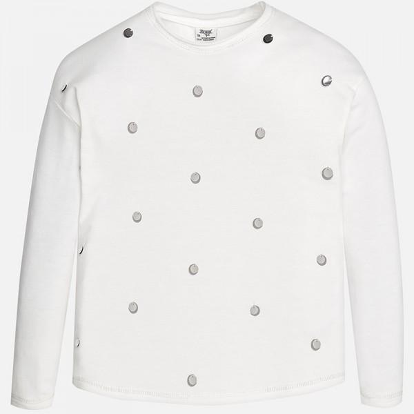 Блуза с пайети