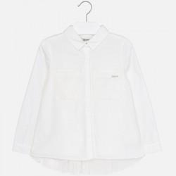 Риза с плисиран гръб