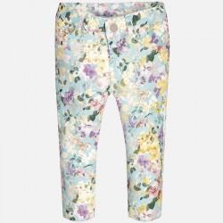Клин-панталон с флорален принт