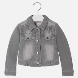 Подплатено дънково яке