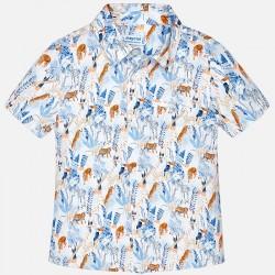 Риза с принт джунгла