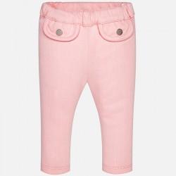 Едноцветен панталон с два джоба отпред