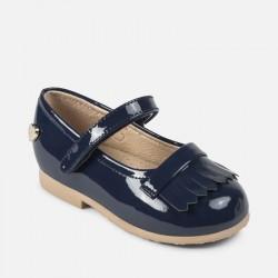 Лачени обувки от естествена кожа
