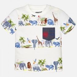 Тениска с африкански животни
