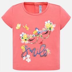 Тениска с принт за момичета