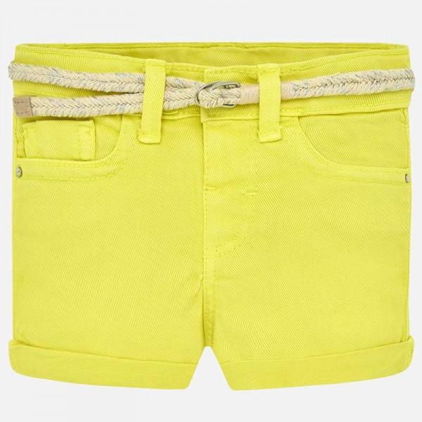 Цветни къси панталонки с колан