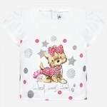 Тениска с кученце