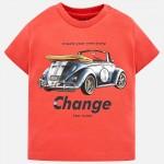 Тениска с ретро автомобил кабриолет