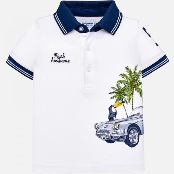Поло тениска с принт