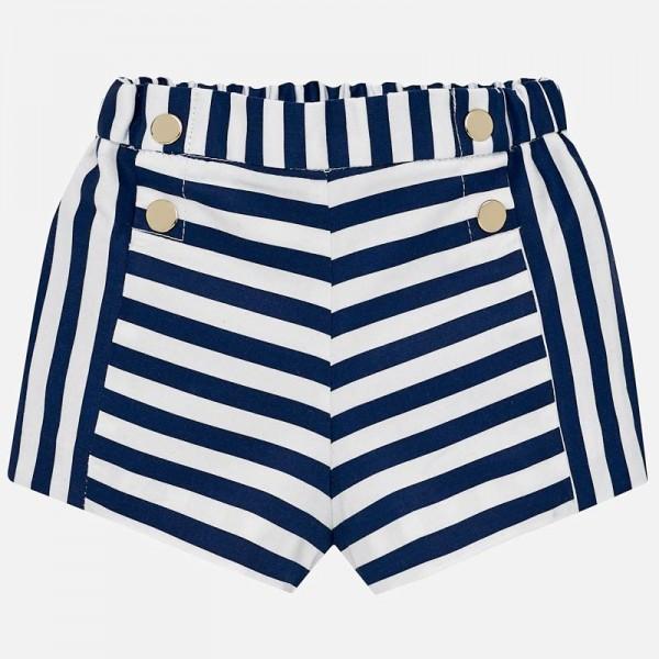 Къси панталонки райе за момиче
