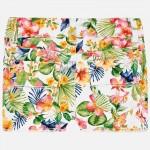 Къси панталонки с флорална щампа