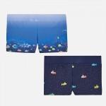 Комплект бански за момче с подводници