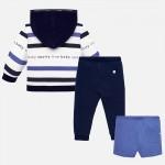 Спортен комплект с къси панталони