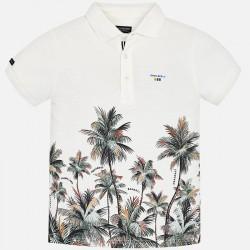 Поло тениска с палми