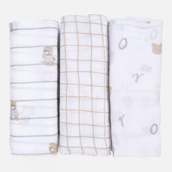 Памучни тънки пелени с различен дизайн