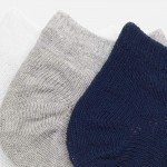 Комплект едноцветни чорапки - тип терлик