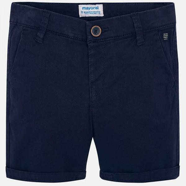 Памучни едноцветни къси панталони