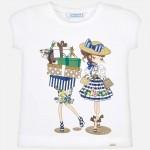 Тениска момичета с покупки
