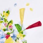 Рокля с флорален принт и апликации