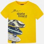 Тениска скейтборд