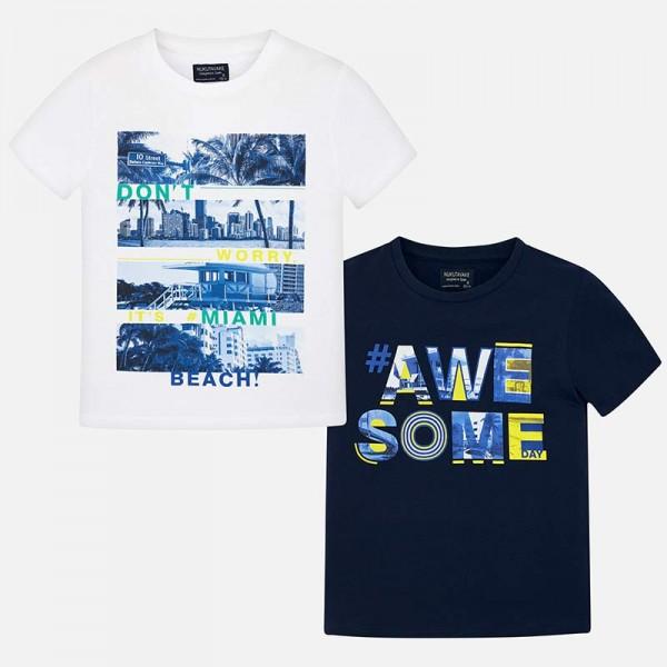 Комплект от две тениски  за момче