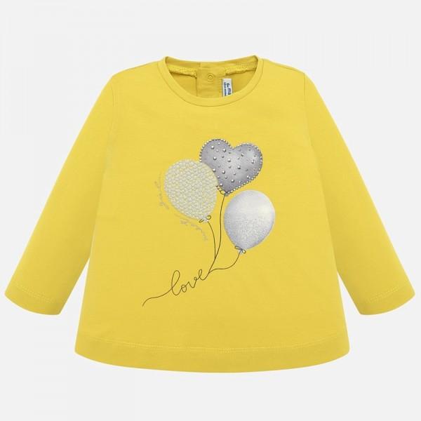 Блуза с принт за момиче серия Baby