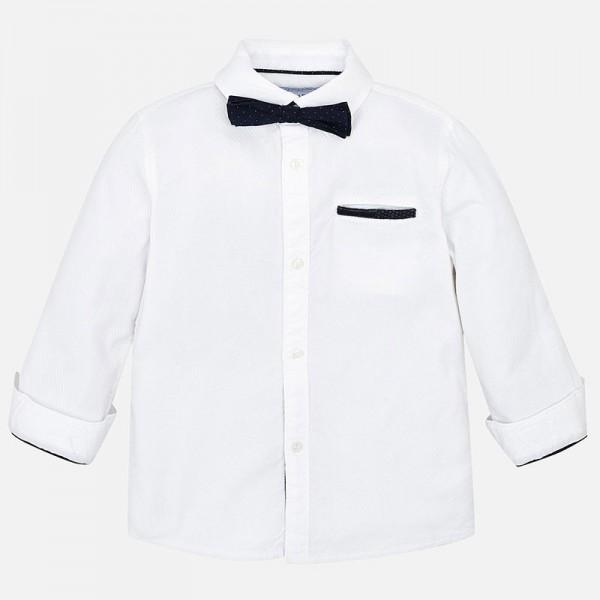 Риза с папийонка