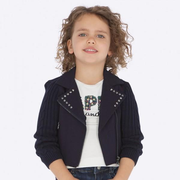 Комбинирано сако с асиметричен цип