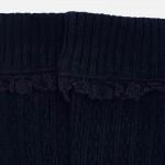Високи чорапи с плетеници за момиче