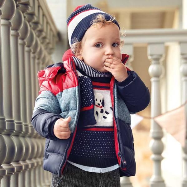Трицветно яке за момче