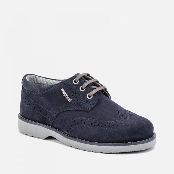 Официални обувки blucher за момче - тийн серия