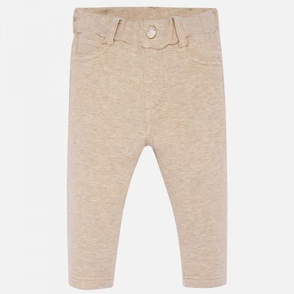 Едноцветен панталон за момиче Baby серия