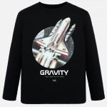 "Блуза с принт "" gravity """