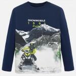 "Блуза с момче "" snowmobile """