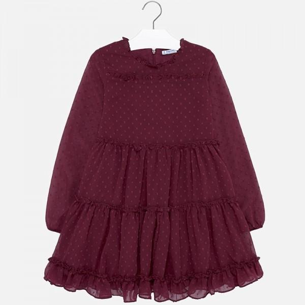 Ефирна рокля от шифон