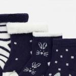 Комплект чорапи с щампи за новородено бебе
