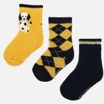 Комплект чорапи с далматинци за бебе момче