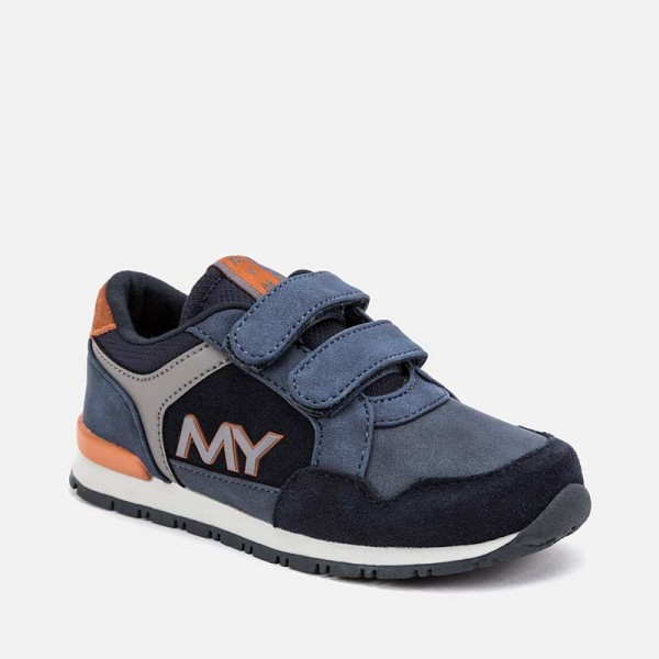 Спортни обувки MY с контрастни детайли за момче - тийн серия