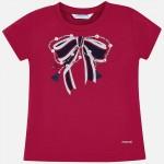 Тениска с панделка