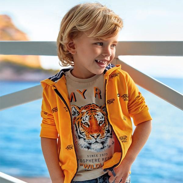 Тениска с тигър