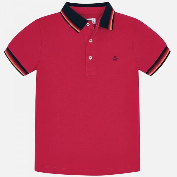 Поло тениска с контрастни кантове