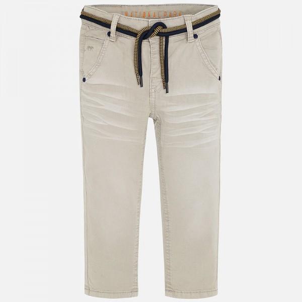Панталон chino slim fit с детайли връзки